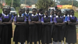 A program run by officials in Yambio county in South Sudan is keeping more girls in school.