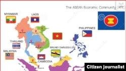 Страны, входящие в состав АСЕАН