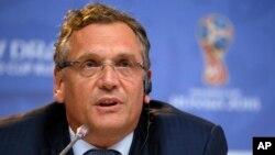 Jérôme Valcke, ex-secrétaire général de la Fifa