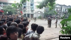 Myanmar uprising in 1988