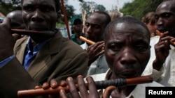 우간다 르웬조리 지구 토착민들. (자료사진)