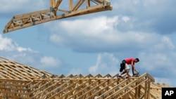 2014年7月17日伊利诺伊州斯普林菲尔德建筑工人