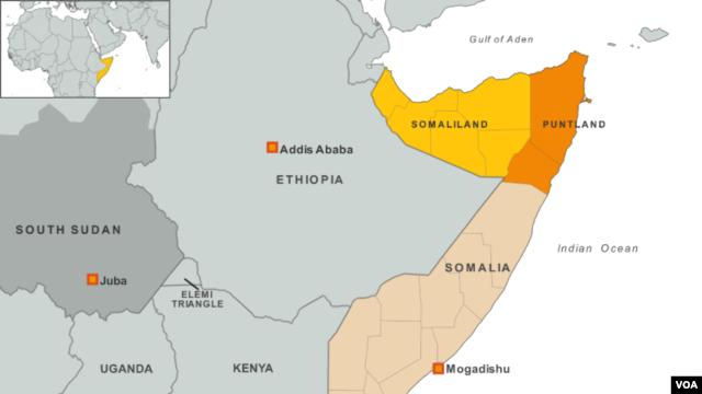 Somalia, Puntland, Somaliland