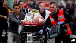 رئیس جمهور فرانسه این رویداد را دهشت افگنی خواند