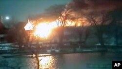 Olay sırasında Webster'da yedi ev yandı