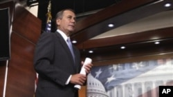 Speaker of the US House of Representatives, John Boehner (File Photo)