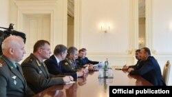 Azərbaycan prezidenti İlham Əliyev Rusiya müdafiə naziri Sergey Şoyqunu qəbul edib
