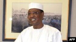 Le président tchadien Idriss Déby, N'djamena, 24 février 2016.