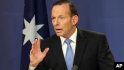 Премьер-министр Австралии Тони Эбботт
