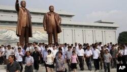 김일성 사망 20주기, 탈북민들 표정