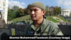 Shavkat Muhammad, Ukrainada rossiyaparast kuchlarga qarshi jang qilayotgan o'zbekistonlik