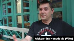 Marko Šelić Marčelo u razgovoru za Glas Amerike, Foto: VOA