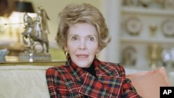 Нэнси Рейган (архивное фото)