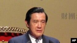 台灣總統馬英九致詞