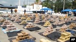 南美洲毒品走私情況嚴重。