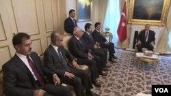 Erdogan û Barzani