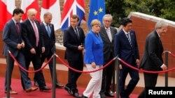 ရာသီဥတုေျပာင္းလဲမႈ G7 နဲ႔ Donald Trump ေဆြးေႏြး