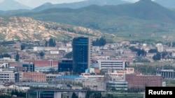 Kawasan industri bersama di Kaesong, Korea Utara (foto: dok). Pyongyang berencana membuka zona ekonomi baru.