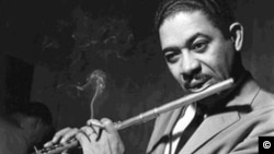 Frank Wess in the early years of his music career. (Photo by Terry Cryer)