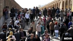 women in Isfahan, Iran