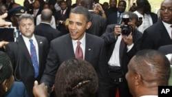 AQSh prezidentining Ganaga tashrifi. 2009-yil.