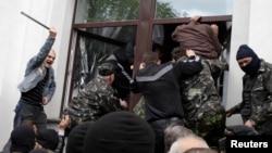 Луганск, 29 апреля 2014