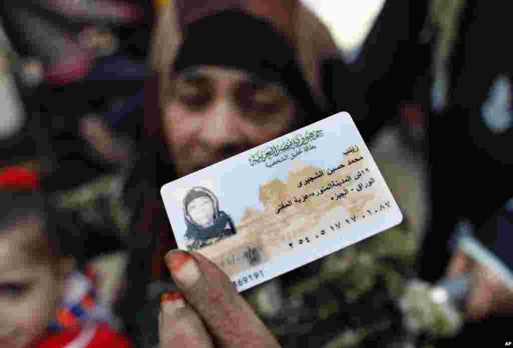 Primeiras eleições depois das manifestações no Egipto, 21 de Dezembro 2011.