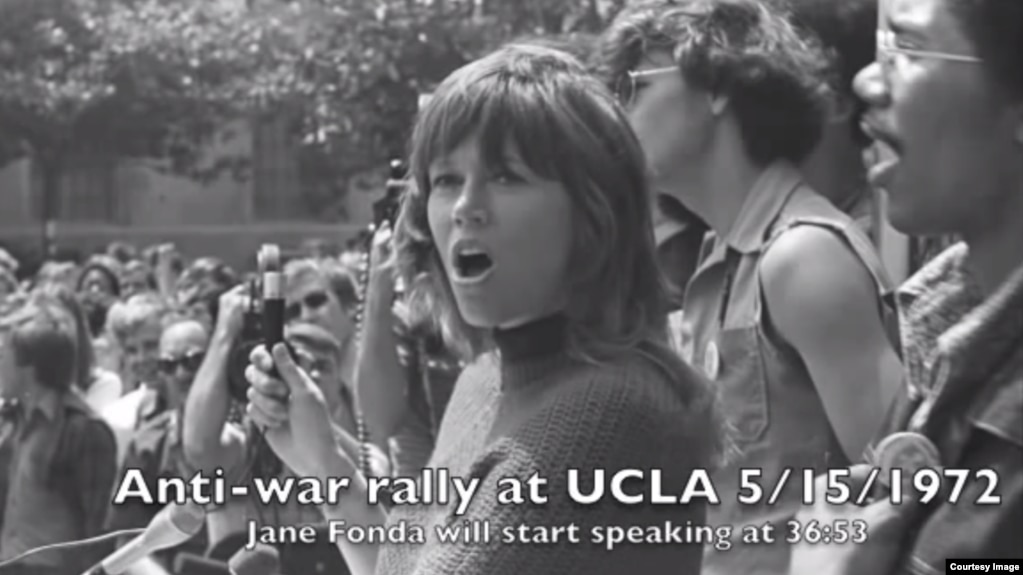 Image result for antiwar jane fonda