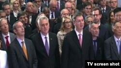 Prijem povodom početka pregovora sa EU, Beograd 15. decembar 2015.