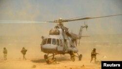 Rus Savunma Bakanlığı'na göre yeni üsse, Mi-8 askeri nakliye helikopteri dahil sadece 3 helikopter konuşlandırıldı