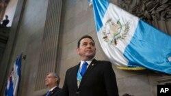 Jimmy Morales, Prezidan Guatemala a.