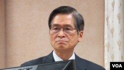 台灣國防部長嚴德發(資料圖片)