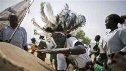 Supporters of independence gathered in Juba, the capital of southern Sudan, Friday
