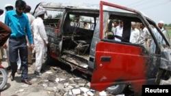 Građani Gurdžata na mestu nesreće
