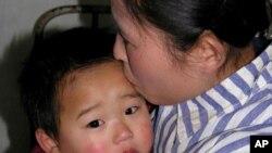 식량난에 시달리는 북한 주민들