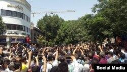 تجمع اعتراضی بازاریان تهران