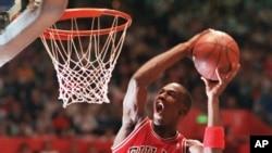 Michael Jordan, bingwa wa mpira wa vikapu