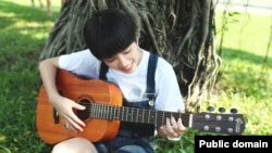"""The sentence """"I am excited about learning to play the guitar"""" follows the adjective-preposition-gerund sentence structure in today's grammar lesson."""
