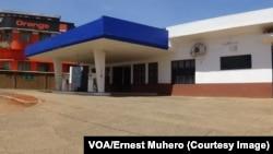 La plupart des stations-services n'ont pas ouvert à Bukavu, Sud-Kivu, 1er novembre 2017. (VOA/Ernest Muhero)