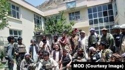 افغان ځواکونه سرخ پارسا ولسوالۍ کې