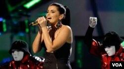 La cantante María Carey también fue contratada para cantar en una fiesta previa a la de fin de año.