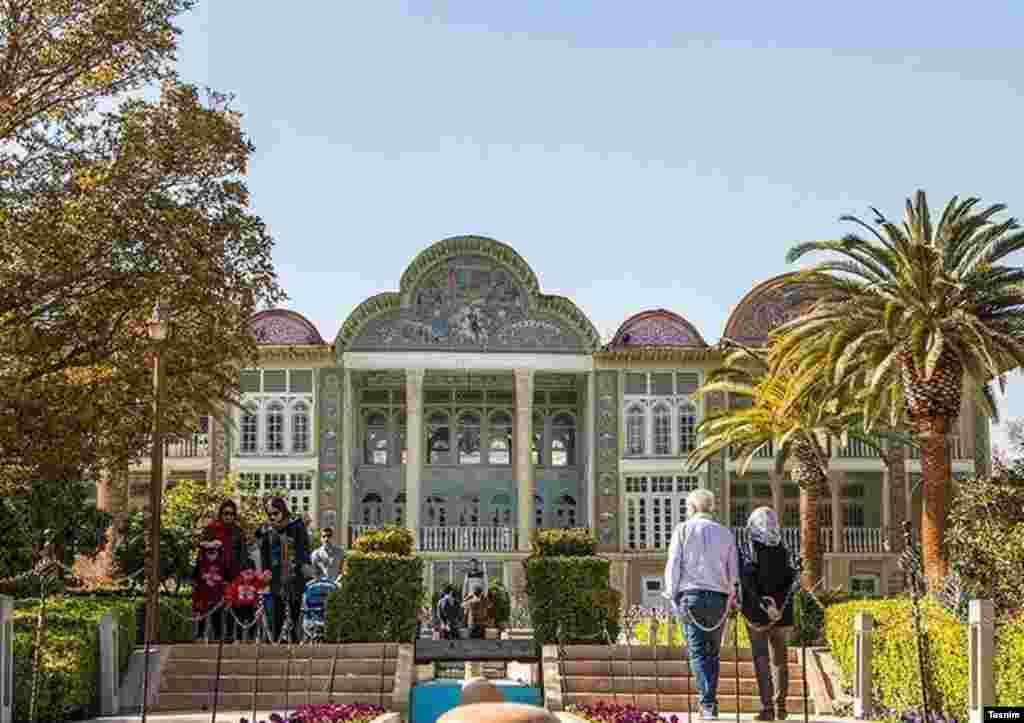 باغ ارم باغ در شیراز که در فهرست میراث جهانی ثبت شده است. عکس: علیرضا عامری