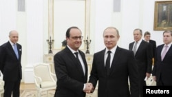 Putin Hollande Nov 15