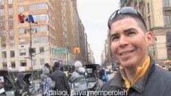 Tur Becak di New York - Liputan Feature VOA