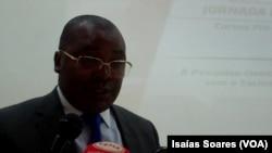 Vice-Governador de Malanje para o sector político e social, Manuel Campo