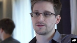 Edward Snowden, who worked as a contract employee at the National Security Agency, June 9, 2013, in Hong Kong.
