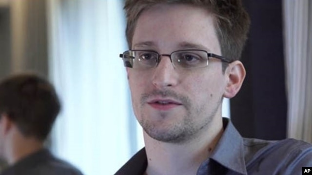 FILE - Edward Snowden in Hong Kong, June 9, 2013.