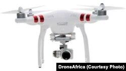 Un drone qu'utilise la société DroneAfrica, au Cameroun.
