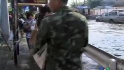 2011-11-02 粵語新聞: 曼谷貧窮郊區繼續受到洪水侵襲