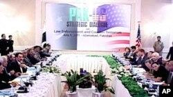 انسداد دہشت گردی پر پاک امریکہ مذاکرات